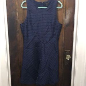 Navy Banana Republic Dress